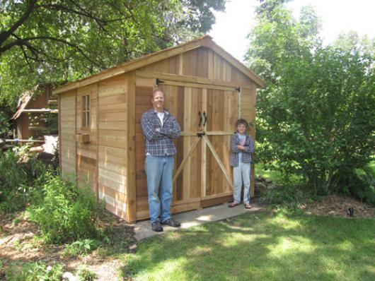 8x12 SpaceMaker Storage Shed