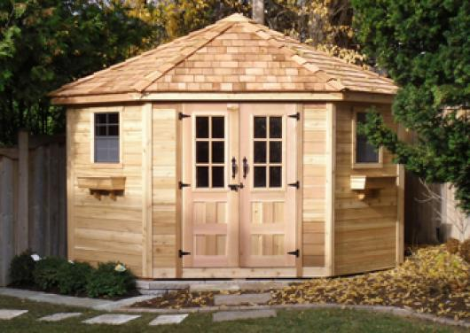9 x 9 Penthouse Garden Shed