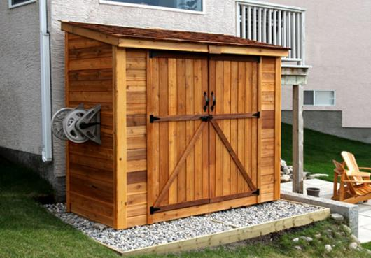 Space Saver 8x4 with Double Doors