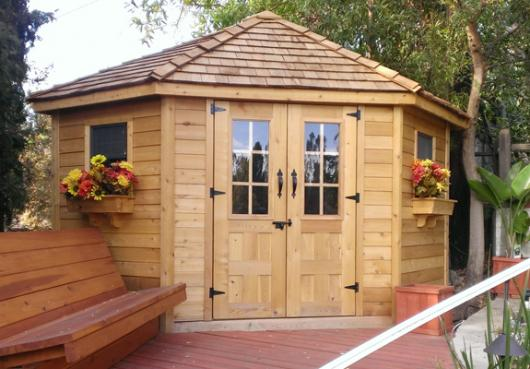 9 x 9 ft. Penthouse Garden Shed