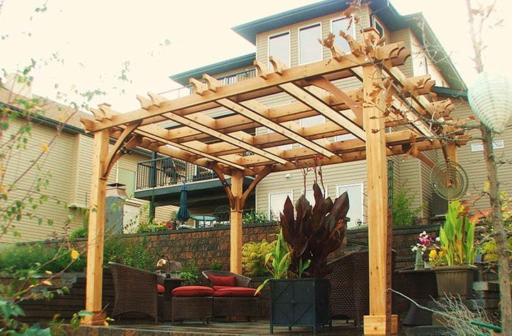 10 Unique Pergola Designs