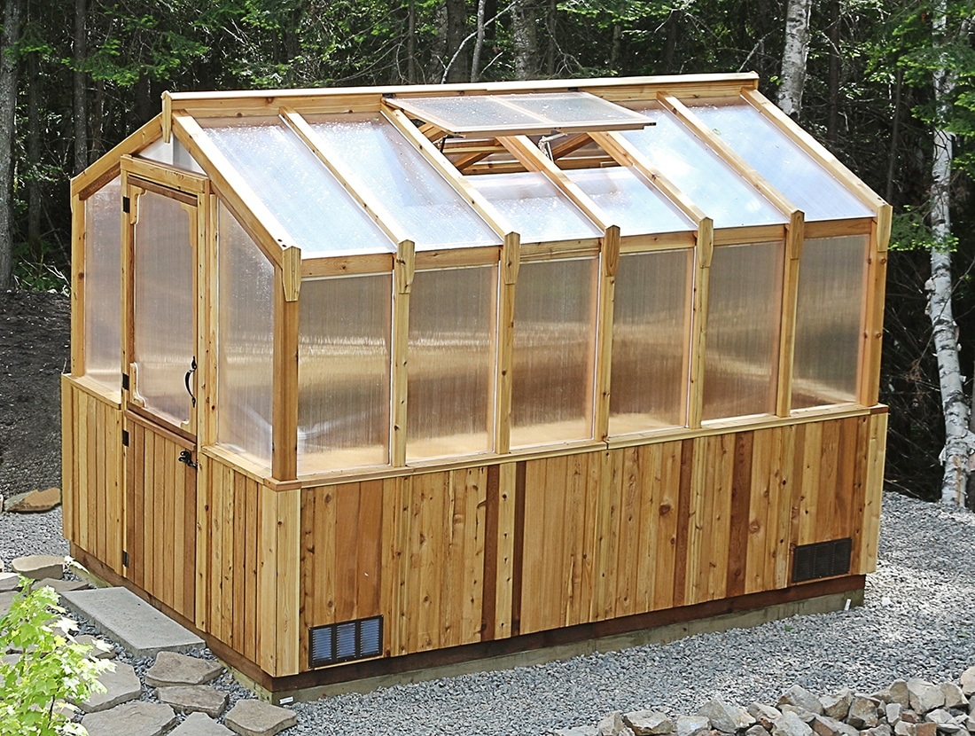 DIY Greenhouse | Cedar Kit 8x12 - Outdoor Living Today
