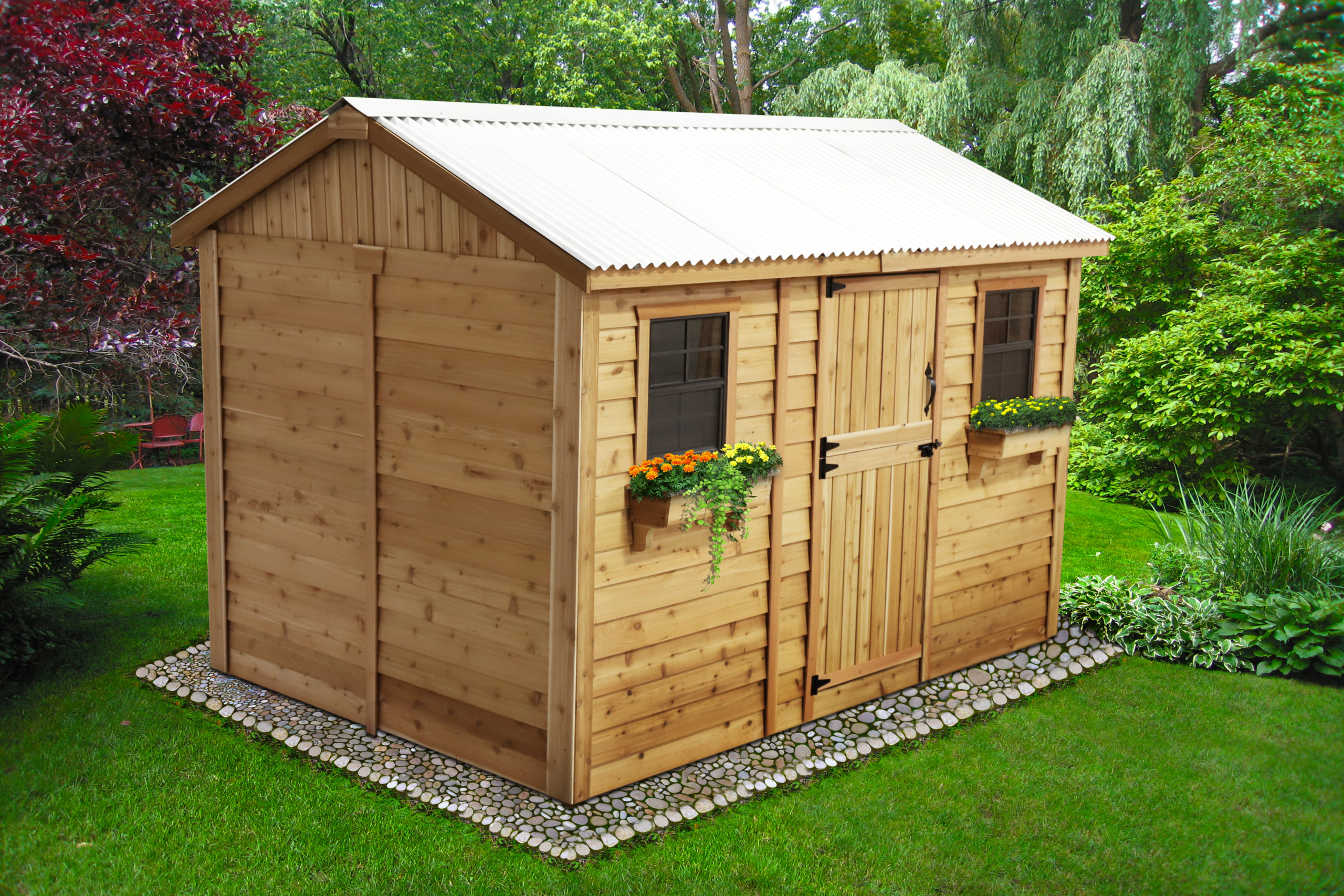 Large Shed for Storage   12x8 - Outdoor Living Today on Outdoor Living Today Cabana id=27294