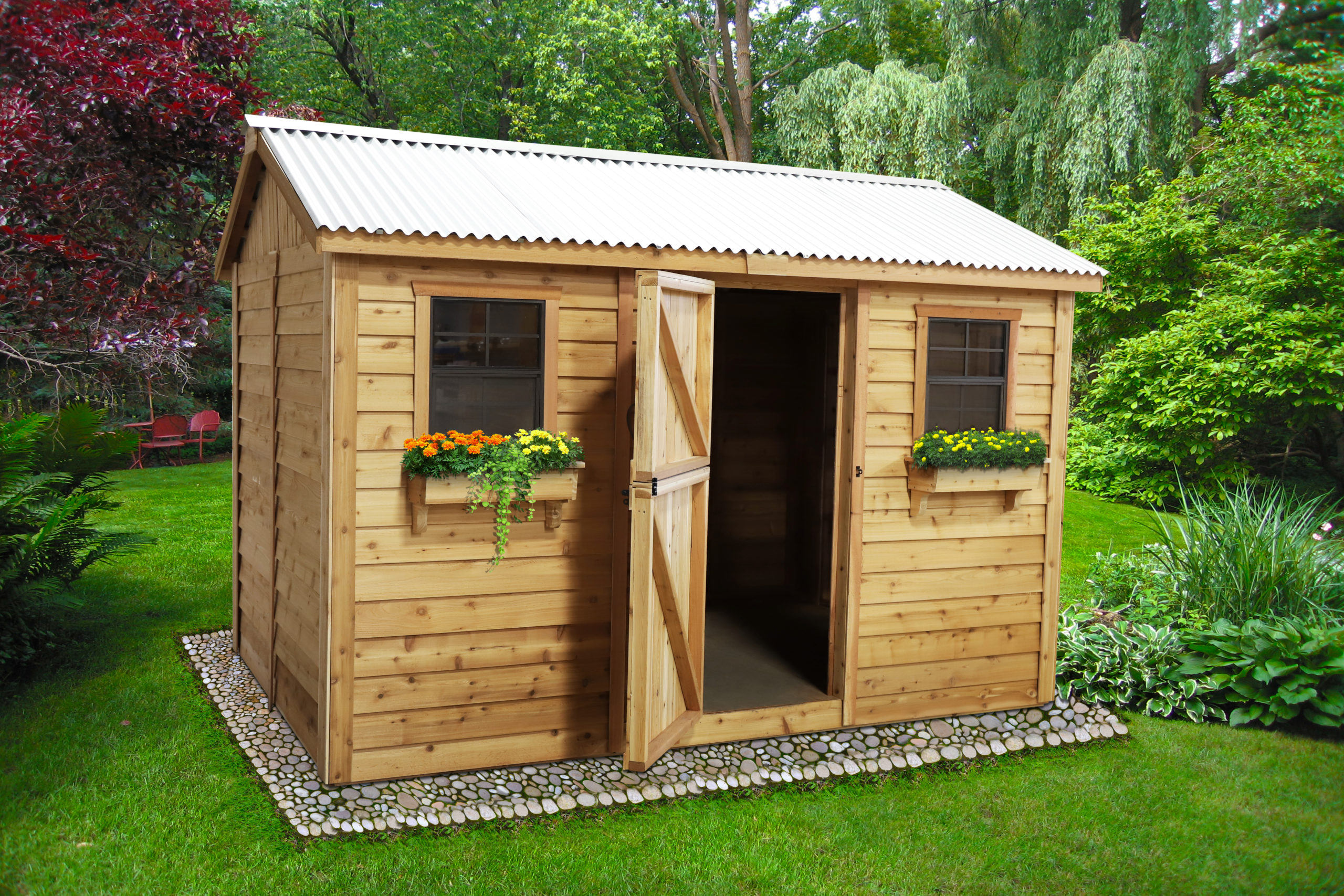 Large Shed for Storage   12x8 - Outdoor Living Today on Outdoor Living Today Cabana id=11336