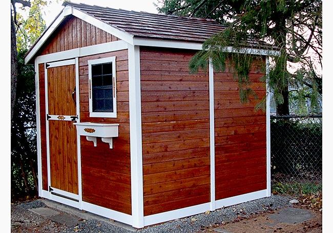 Cedar Shed Gardener 8x8