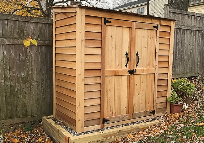 Cedar Shed Kits - Outdoor Living Today