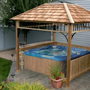 Hot Tub Gazebo - Naramata 9x9