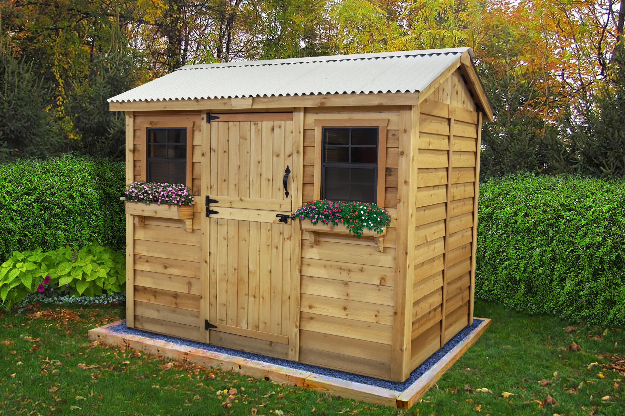 Shed Kits for Sale   9x6 Cabana   - Outdoor Living Today on Outdoor Living Today Cabana id=59960