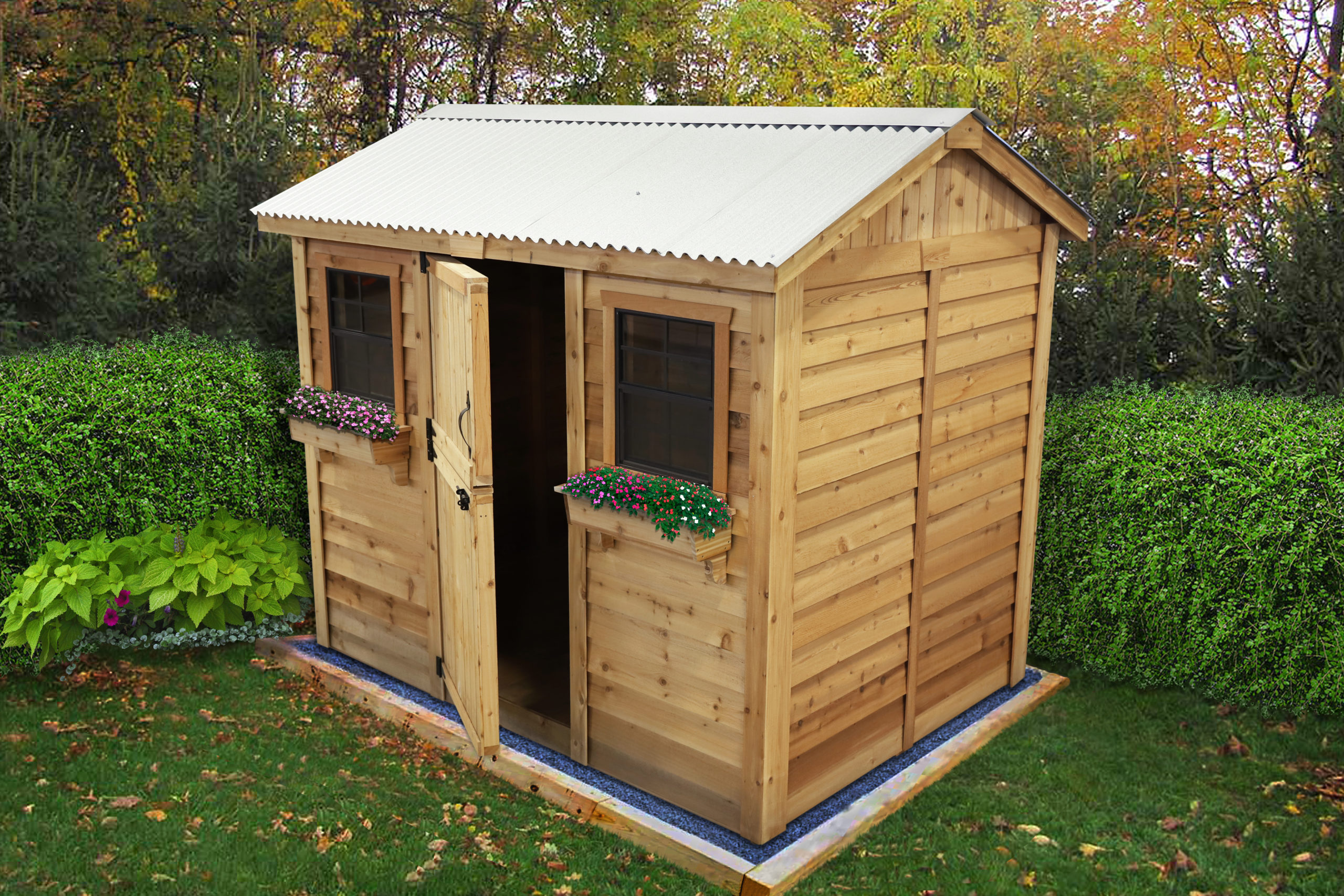 Shed Kits for Sale   9x6 Cabana   - Outdoor Living Today on Outdoor Living Today Cabana id=75396