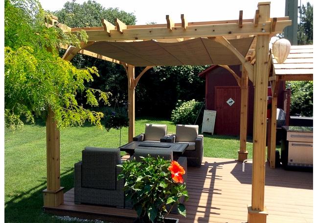Pergola - Retractable Canopy 10 x 10