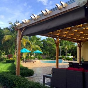 Pergola - with Retractable Canopy 12 x 20