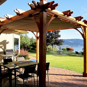 pergola retractable canopy 8x10