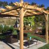 Pergola-Kits-Breeze-Arched-12x10-backyard