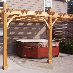Attached Breeze Pergola | 12x16