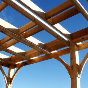 Pergola - Attached Breeze Pergola 12 x 16 Kit
