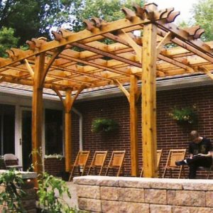Modern Pergola - Breeze Pergola 10 x 16 Kit