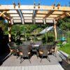 Pergola - Retractable Canopy 10 x 12