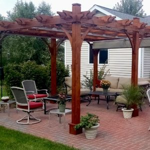 Pergola Canopy - with Retractable Canopy 12 x 16