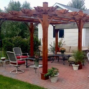 Pergola Canopy - with Retractable Canopy 12 x 16