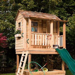 diy playhouses - Little Cedar 6x6