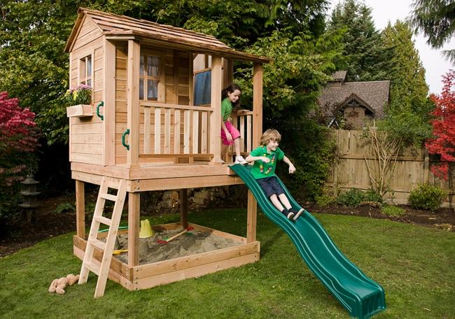 Playhouse Sandbox - Little Cedar 6x6