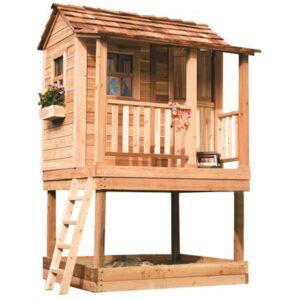 Kids Playhouse Sandbox - Little Cedar 6x6