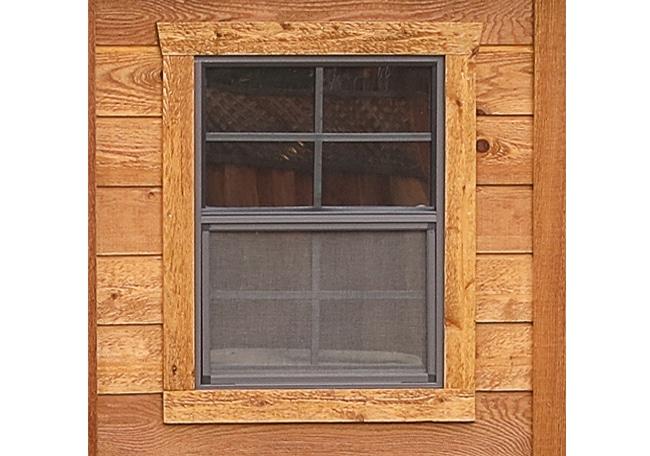Cedar Shed Kit Window
