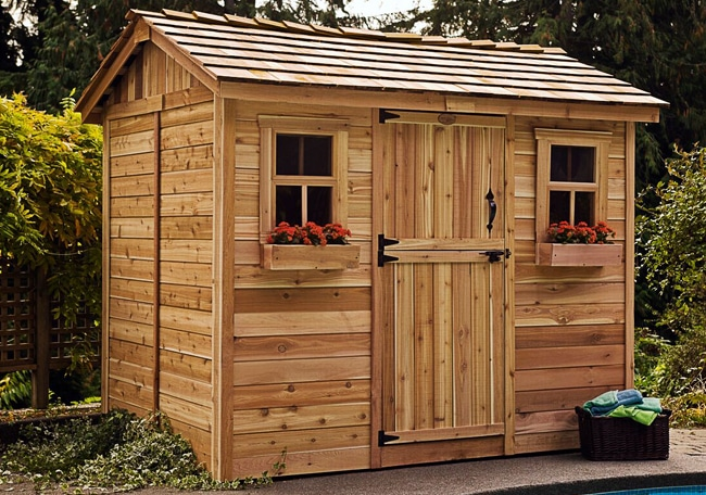 Shed Living : Shed Kits for Sale  9x6 Cabana  - Outdoor Living Today