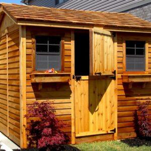 Cedar Shed Kits Outdoor