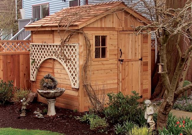 Shed Gardener 8x8 Cedar