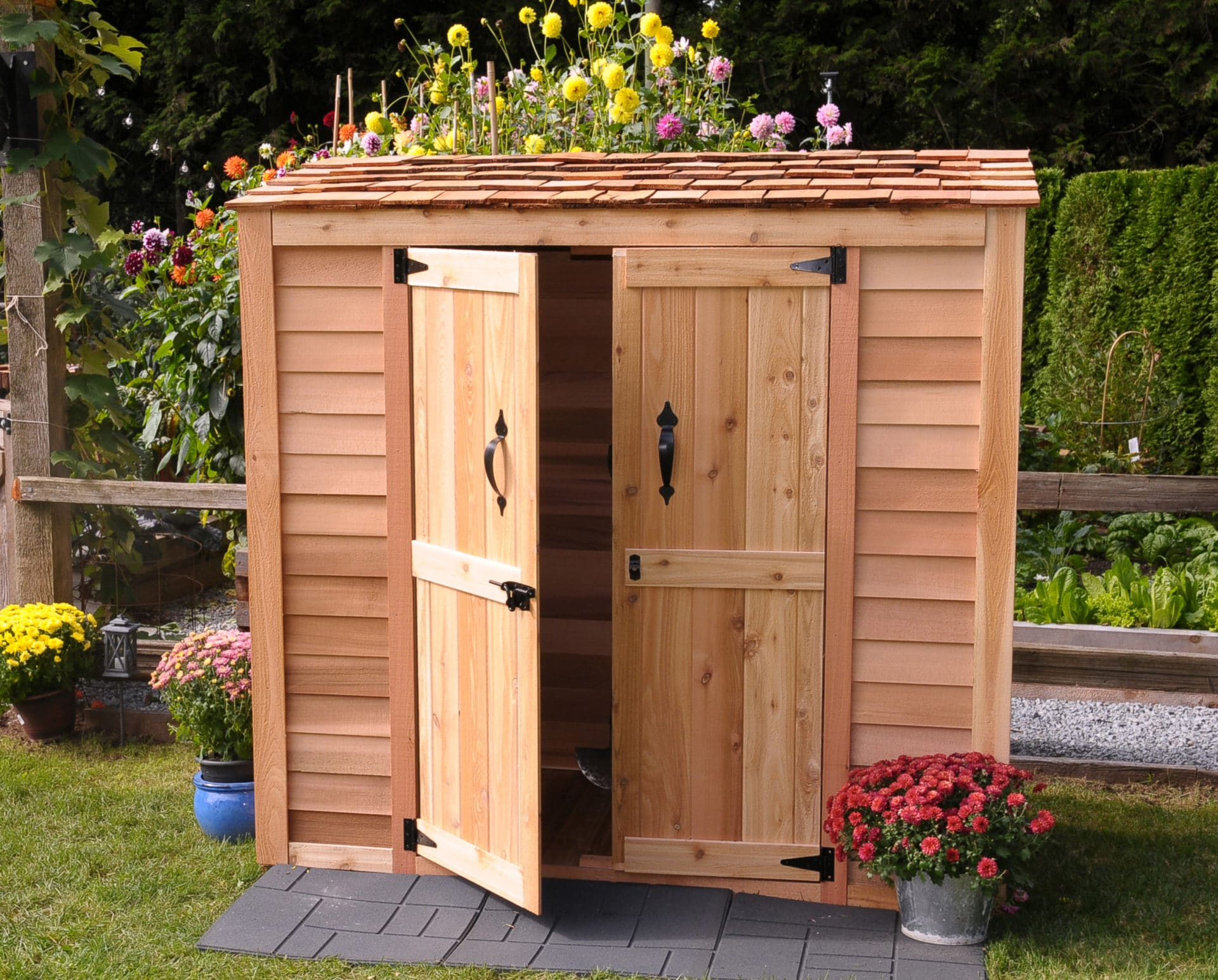 chalet grand outdoor zoom sale shed storage product sheds garden
