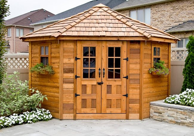 5 Sided Shed