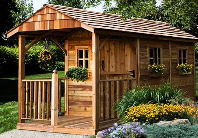 Backyard Sheds 8x12 Santa Rosa Garden Outdoor Living Today