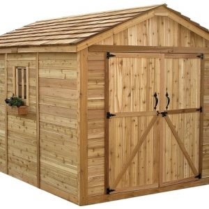 Outdoor Cedar Shed Kits