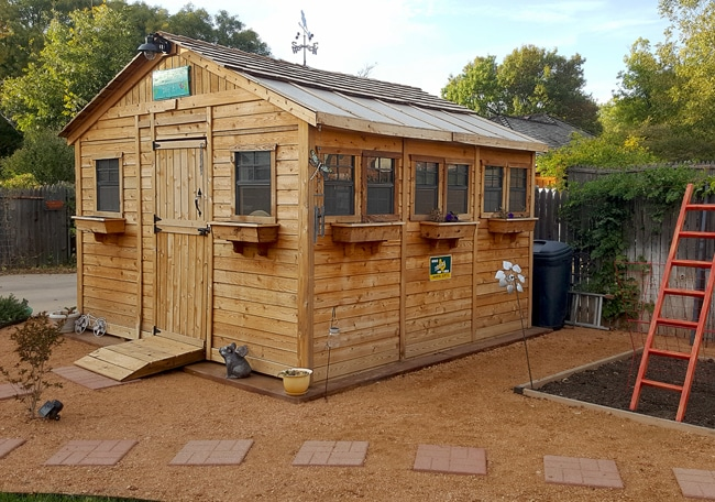 She Shed | Sunshed Garden 12'x12' - Outdoor Living Today on Outdoor Living Today Sunshed id=91985