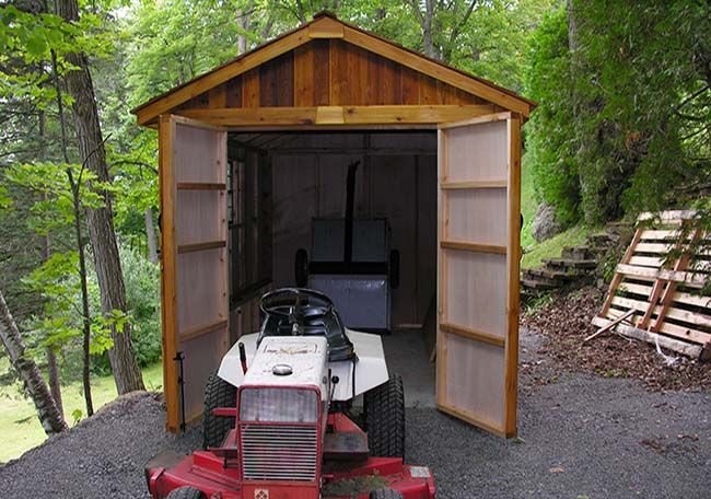 Charming SpaceMaker Storage Shed 8 X 12 Tractor