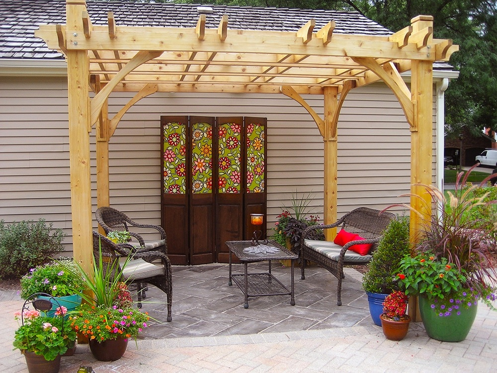 wooden pergola · Pergola Kits - Wooden Pergola 10x10 Breeze Pergola - Outdoor Living Today