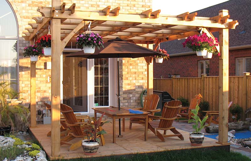 How To Maintain A Deck Or Pergola