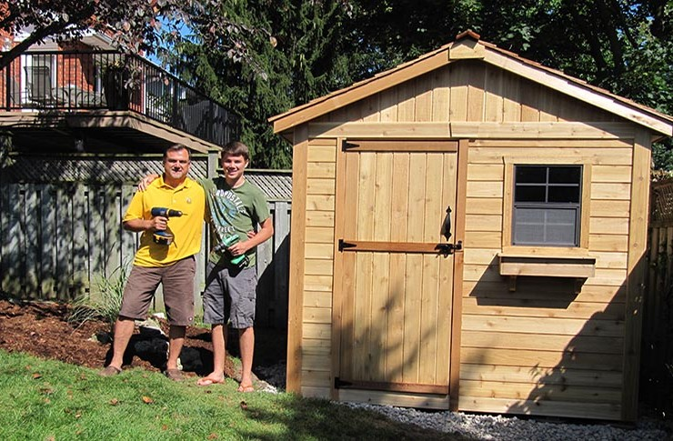 Preare your site for a prefab shed