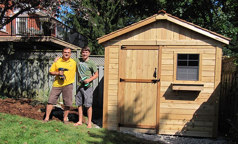 How to Prepare Your Site for a Prefab Shed - Outdoor Living Today