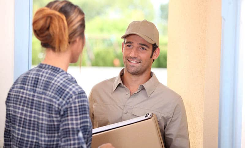 How to receive small package deliveries