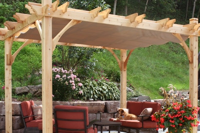 build a pergola step by step