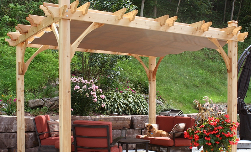 How To Build A Pergola Step By Olt