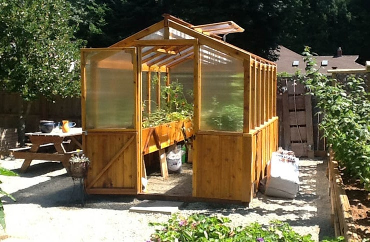 having a greenhouse