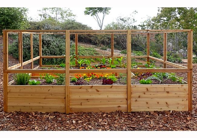 Garden Deer Fence | Raised Garden Bed - Outdoor Living Today