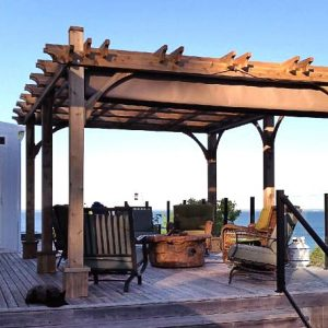 Custom Pergola Canopy Retractable