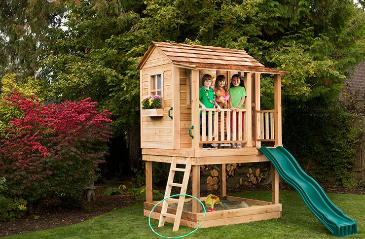 Stain Your Shed or Playhouse