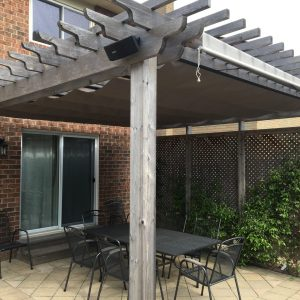 Custom Retractable Canopies for Just About Any Pergola