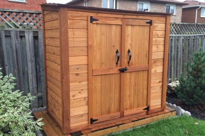 Wooden Shed or Plastic Shed