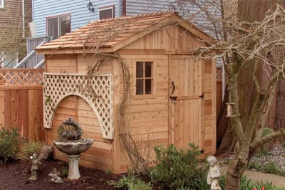 choosing the right kind of shed